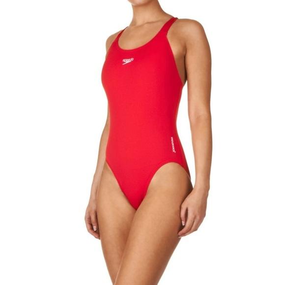 8b913fb871f Speedo Swim | Womens Red Onepiece Suit | Poshmark